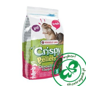Versele Laga Crispy Pellets Chinchill & Degu 1kg